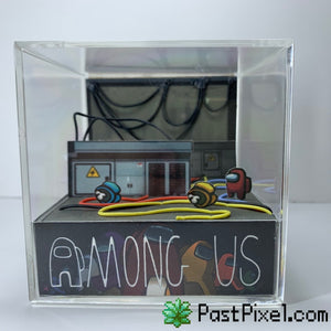 Among Us Electrical Diorama Cube