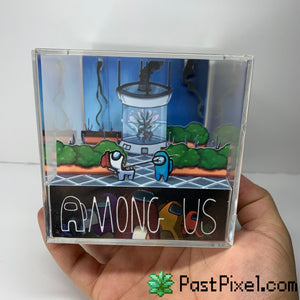 Among Us Greenhouse Diorama Cube