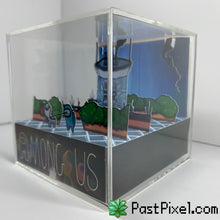 Load image into Gallery viewer, Among Us Greenhouse Diorama Cube