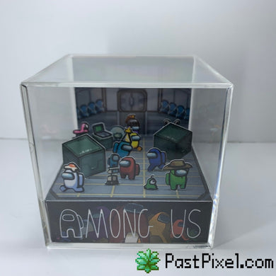 Among Us Loading Room Diorama Cube