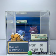 Load image into Gallery viewer, Pokemon Art Charizard vs Gengar Cube pastpixel