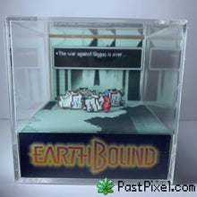 Load image into Gallery viewer, Pokemon Art Earthbound - After Final Battle Cube pastpixel