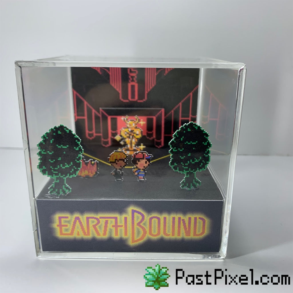 Earthbound - Moonside Diorama Cube