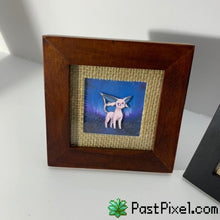 Load image into Gallery viewer, Pokemon Art Espeon & Umbreon Frame Set pastpixel