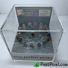 Load image into Gallery viewer, Final Fantasy Tactics Diorama Cube