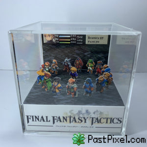 Final Fantasy Tactics Diorama Cube