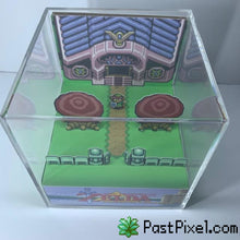 Load image into Gallery viewer, Pokemon Art Legend Of Zelda A Link To The Past Sanctuary Cube pastpixel
