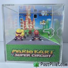 Load image into Gallery viewer, Pokemon Art Mario Kart Cube pastpixel