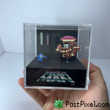 Load image into Gallery viewer, Megaman Dr. Wily Cube Diorama