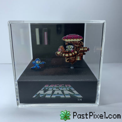 Megaman Dr. Wily Cube Diorama