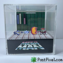 Load image into Gallery viewer, Megaman - Fireman Diorama Cube