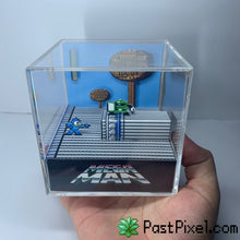 Load image into Gallery viewer, Megaman - Green Dude Diorama Cube