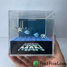 Load image into Gallery viewer, Megaman - Iceman Diorama Cube