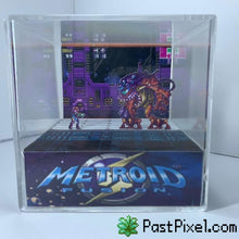 Load image into Gallery viewer, Pokemon Art Metroid Fusion SA-X Cube pastpixel