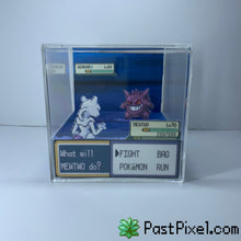 Load image into Gallery viewer, Mewtwo Vs Gengar Cube Diorama