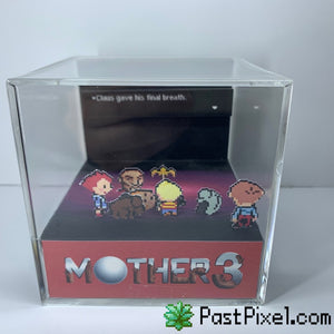 Mother 3 - Claus Death Cube Diorama