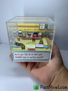 Pokemon Art PokeCenter Cube pastpixel