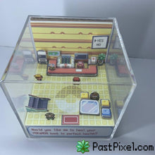 Load image into Gallery viewer, Pokemon Art PokeCenter Cube pastpixel