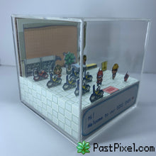 Load image into Gallery viewer, Pokemon Bike Shop Cube Diorama