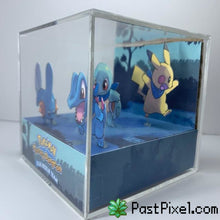 Load image into Gallery viewer, Pokemon Blue Rescue Team Cube Diorama