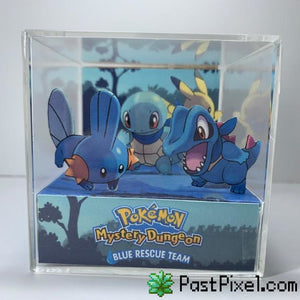 Pokemon Blue Rescue Team Cube Diorama