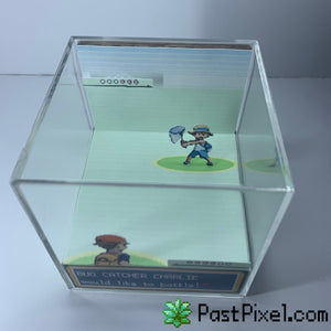 Pokemon Bug Catcher Battle Diorama Cube