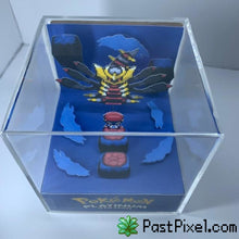 Load image into Gallery viewer, Pokemon Art Pokemon Distorted World Giratina Cube pastpixel