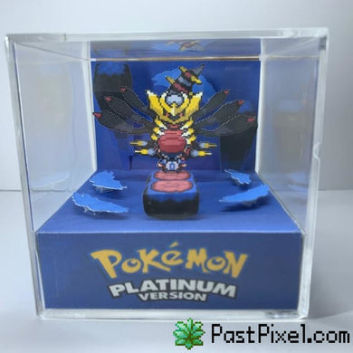 Pokemon Art Pokemon Distorted World Giratina Cube pastpixel