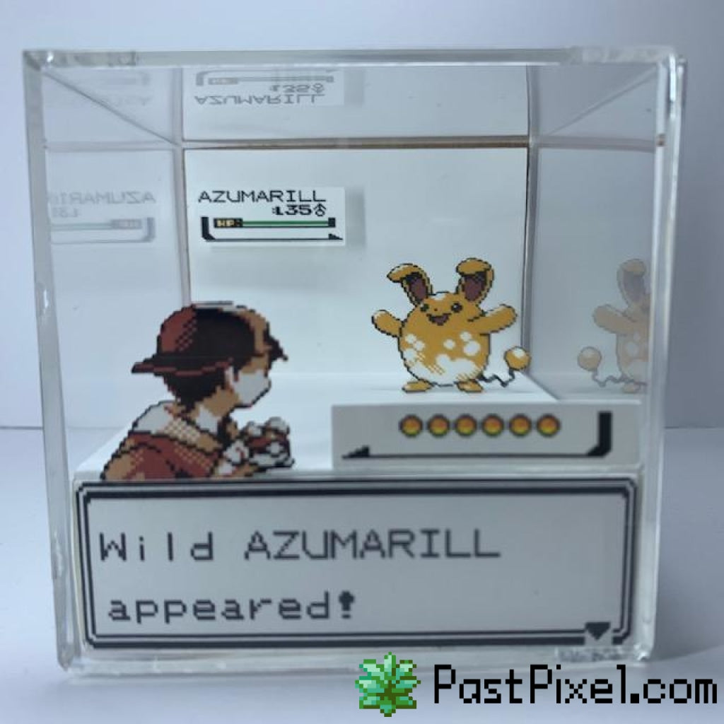 Pokemon Gold/silver- Shiny Cube Diorama