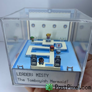 Pokemon Gym Leader Misty Diorama Cube