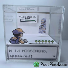 Load image into Gallery viewer, Pokemon Art Pokemon MissingNo. Glitch Cube pastpixel