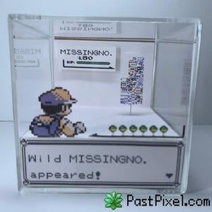 Pokemon Art Pokemon MissingNo. Glitch Cube pastpixel
