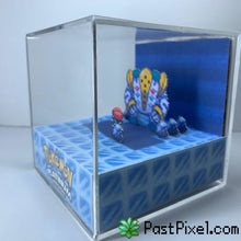 Load image into Gallery viewer, Pokemon Art Pokemon Platinum Regigigas Cube pastpixel