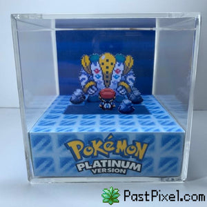 Pokemon Art Pokemon Platinum Regigigas Cube pastpixel