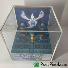 Load image into Gallery viewer, Pokemon Art SoulSilver Lugia Cube pastpixel