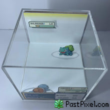 Load image into Gallery viewer, Pokemon Art Squirtle vs Bulbasaur Cube pastpixel