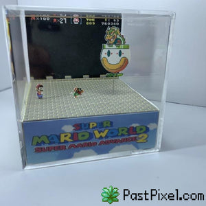Pokemon Art Super Mario World Bowser Cube pastpixel
