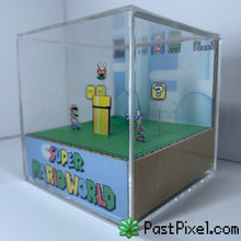 Load image into Gallery viewer, Super Mario World Cube Diorama