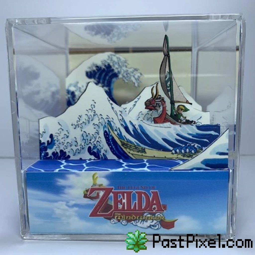 Pokemon Art The Legend of Zelda the Wind Waker Cube pastpixel