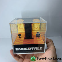 Load image into Gallery viewer, Undertale Sans Diorama Cube