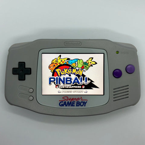 GameBoy Advance - Backlit SNES (US) Themed