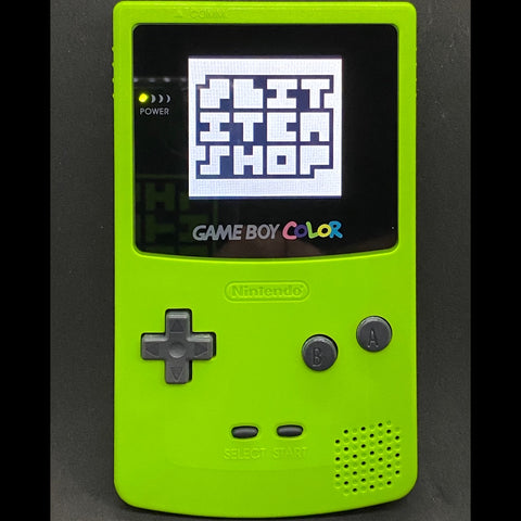 GameBoy Color - TFT Backlit Kiwi