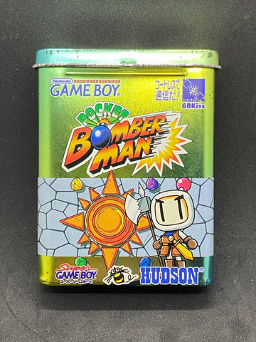 Bomberman Pocket - Tin Can GameBoy Game Japanese