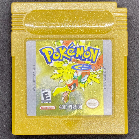 Pokemon Gold Version - GameBoy Color Game