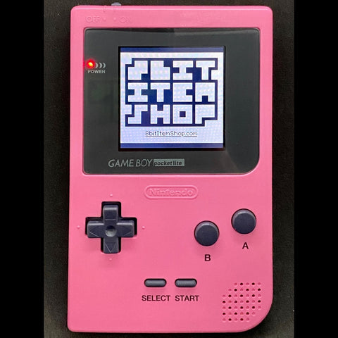 GameBoy Pocket - Pink Backlit