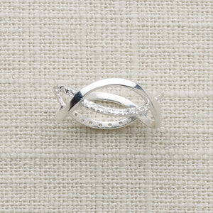 Infinity Ring Crystal