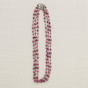 Chandelier Necklace - Triple Strand