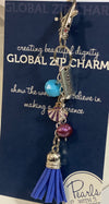 Zip Charm-Intentional Word