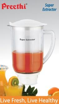 Preethi Accessories Preethi Super Extractor MGA 508 - 1.5 Litre Jar (White)