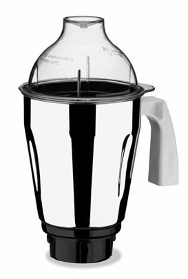 Preethionline Accessories Preethi MGA 514 - 1.75 Litre Taper Jar (Steel/Transparent)